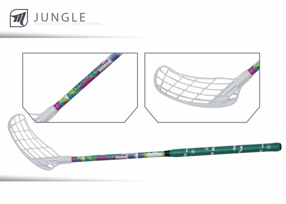 MPS JUNGLE Purple - detská Florbalová hokejka - Ochranné siete ... 2697aebfcd