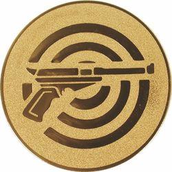 Emblém krátka zbraň