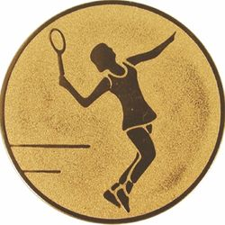 Emblém tenis žena
