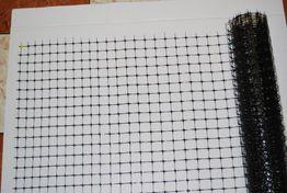 Plastove pletivo 1,5 x 3,8m oko 3 x 3 cm
