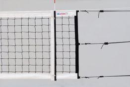 Plážová volejbalová sieť s 6 napínakmi