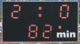 Svetelná tabuľa Derby 9 RC