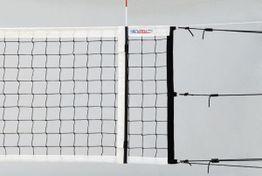 Volejbalová sieť ligová PROFI SUPER s 6ks rýchlonapinákmi