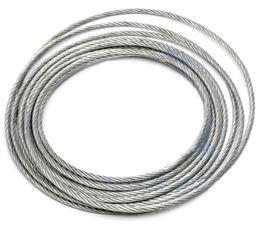 Oceľové lano 3 mm