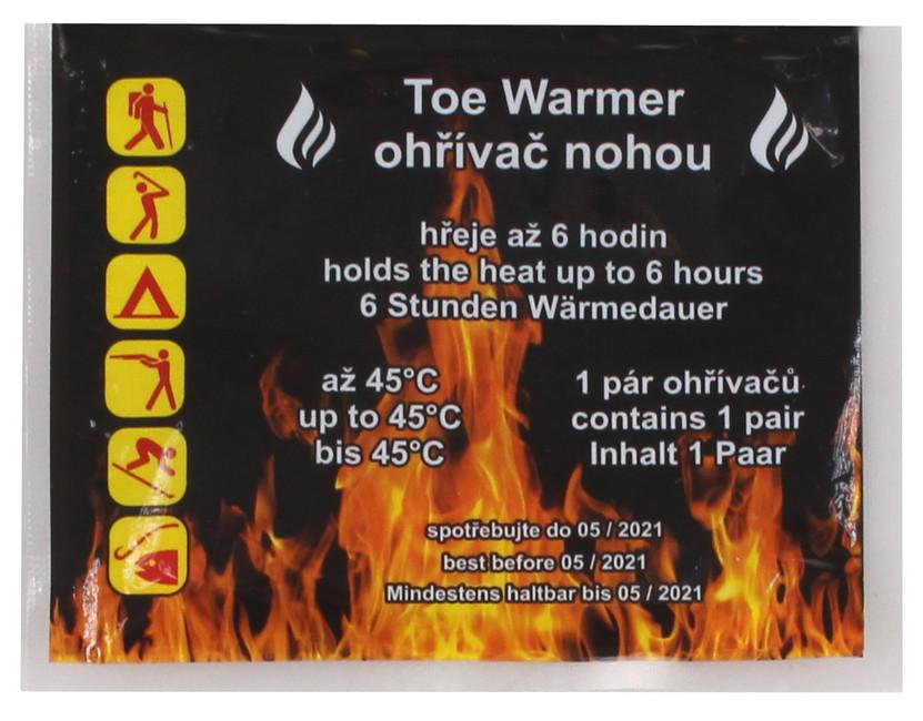 Toe Warmer ohrievač nôh